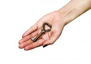 Deixe as chaves com um profissional confiável